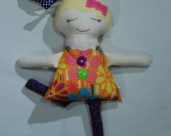 Handmade doll, cloth doll, Darling Big Sister Doll, girl doll