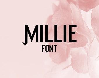 CG Millie Font