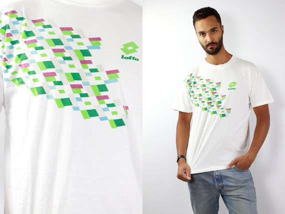 Vintage T-Shirt Vintage T Shirt 90s T-Shirt LOTTO T-Shirt Oversize T-Shirt Lotto 90s T-Shirt Oversize T-Shirt 90 Streetwear T-Shirt