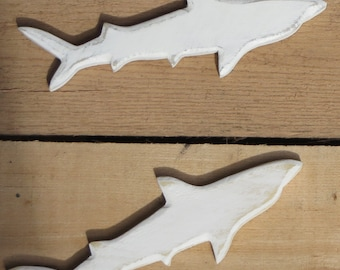 Shark Magnets- Reclaimed Wood, Assorted Colors Available