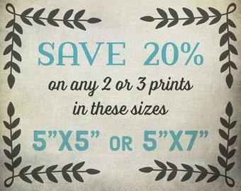 Save 20% - Bundle Discount - wall art prints, art prints, large art, wall art, large wall art, print set, art print set, art photography