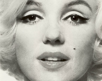 Marilyn Monroe Beautiful Face Hollywood Poster Art Photo Artwork 11x14 or 16x20