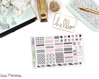 Read to Me - B6 MONTHLY KIT - Paper Planner Stickers