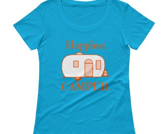 Happiest Camper- MUST HAVE t-shirt when you go camping!