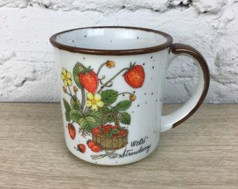 Wild Strawberry Stoneware Mug