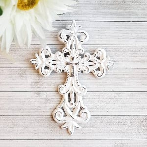 Wall Cross, Religious Gifts, Religious Wall Art, Wall Hanging Cross,  Crucifix,