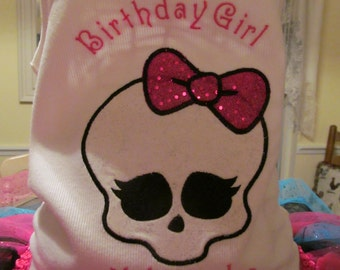 Skull Birthday Shirt