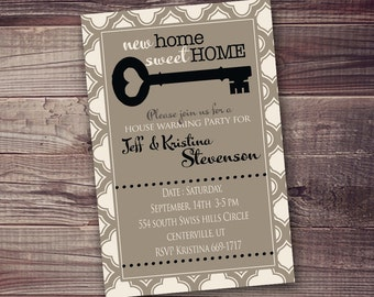 Any Occasion Digital Invitation, open house, new home, we've moved etc...