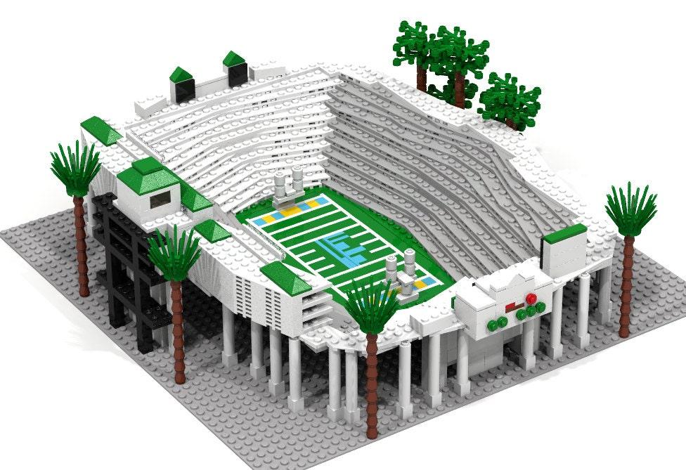 Bowl Stadium UCLA Bruins Brick Model