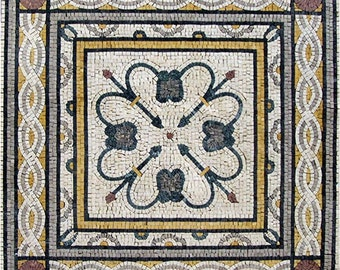 Decorative Geometric Mosaic - Hana