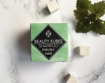 Plastic free, shampoo cubes, vegan, organic, sls free, zero waste, organic shampoo, for oily hair, plastic free shampoo, bar, paraben free,