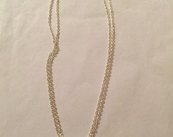 Tiny Snowflake Necklaces!