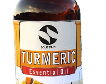 4fl. OZ Turmeric Essential Oil -  Natural, Premium, Therapeutic & Pharmaceutical Grade, Lowest Price Guaranteed
