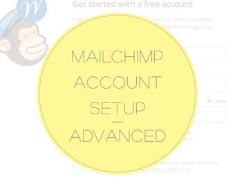MAILCHIMP Account Setup - Advanced- Brand your Mailchimp Account - Integrate Mailchimp with Wordpress