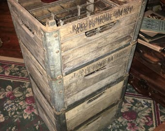 Antique Roets Dairy Crate, Very Heavy Duty, listing is for one however I have four to sell