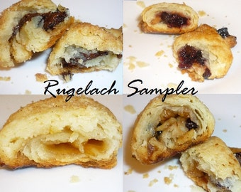 Rugelach Cookie Sampler / Jewish Cookie / Cookie / Mother's Day / Pastry