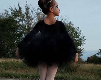 Black child size tutu only  solid black great for mommy and me photos, Pageants, Birthdays, Pictures and much more