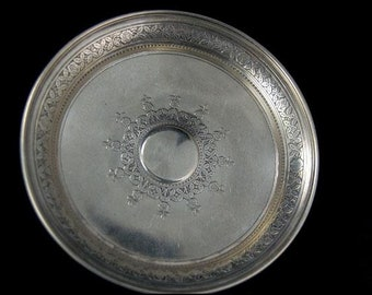 Old Tiffany & Co Sterling Silver 925-1000 Rose Dish