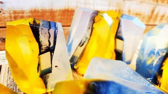 Nag Champa Smokey Quartz Crystal Soap