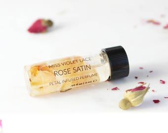 Rose perfume SAMPLE | Floral Perfume | 100% natural and vegan