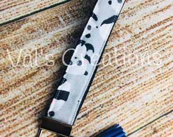 Key fob wristlet