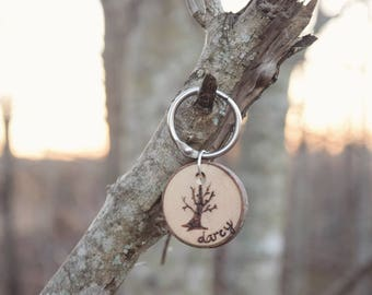 WATERPROOF Withering Wood Dog ID Tag
