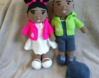 Custom handmade dolls
