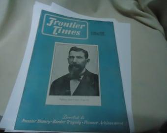 Vintage April 1948 Frontier Times Magazine , vol 25 no 7 collectable