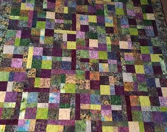 Batik Daisys Quilt
