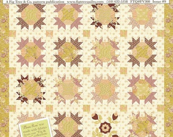 Fig Tree Quilts - Fresh Vintage - FV300 - Issue 9