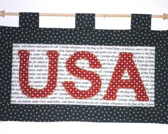 Fabric Wall Hanging - USA