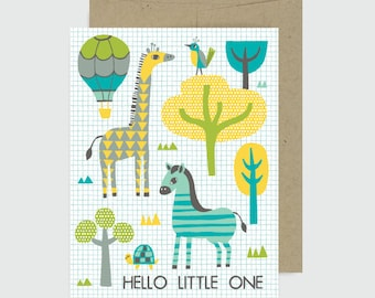 Baby Card -Little One