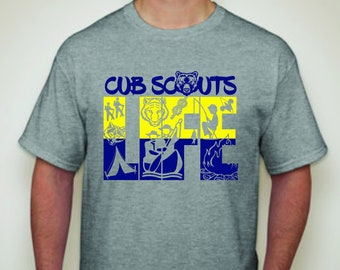 Cub Scout Life T-shirt-Scouts T-shirt-Cub Scout Tees-Scouting Apparel
