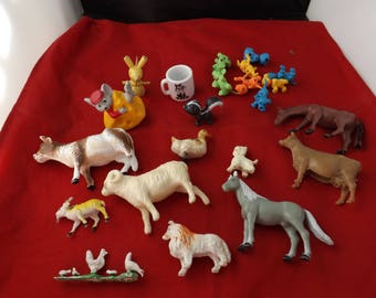 Lot of Toy Animals and More