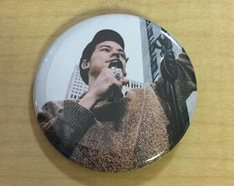 Harry Styles 2017 New Pinback Button-2.25 inch Today Show NYC 2017
