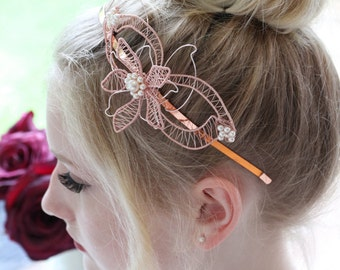 BRIDAL Headpiece / Tiara / Headband  - CARRINGTON