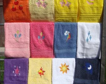 MLP Cutie Mark Towels