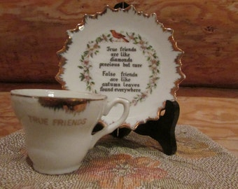 True Friends Cup and Saucer Collectable