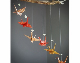 Mobile origami and Driftwood coral