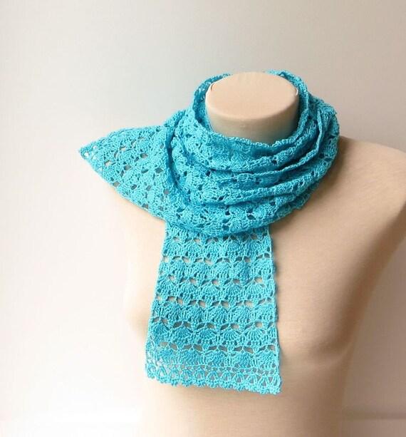 Crochet scarf pattern Crochet beginner pattern Lace crochet