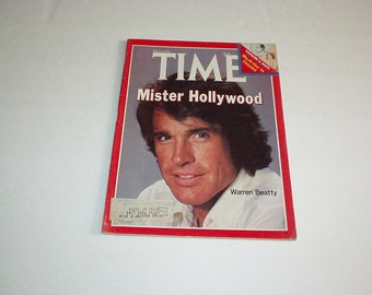 1978 TIME Magazine *WARREN BEATTY *Caroline and Philippe *In Search of History *Arand Haan *Mohammad Al Fassi *World News *Celebrities *Ads+
