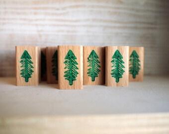 little fir - rubberstamp - 20x35mm - by SiebenMorgen
