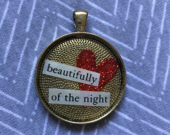 beautifully of the night pendant