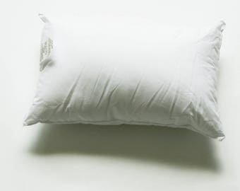 Faux Down 12 x 18 Square Pillow Insert for 12 x 18 Pillow Covers