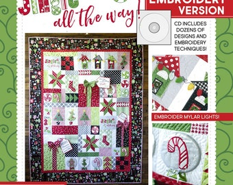 Kimberbell Jingle All the Way (The Machine Embroidery Version) with CD: Make 5 Oh-So-Merry Projects for Your Home