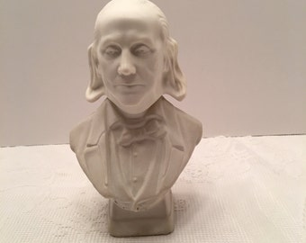 Vintage Avon Collectible ~ Ben Franklin Decanter~ Tai Winds After Shave