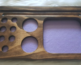 CUSTOM LONG V1 Dice Tray for Dungeons and Dragons, Pathfinder, or any Board Game