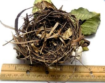 Bird Nest - Natural Bird Nest - Outdoor Decor - Craft Supplies -natural craft supplies - woodland decor - rustic wood supply -  # 32