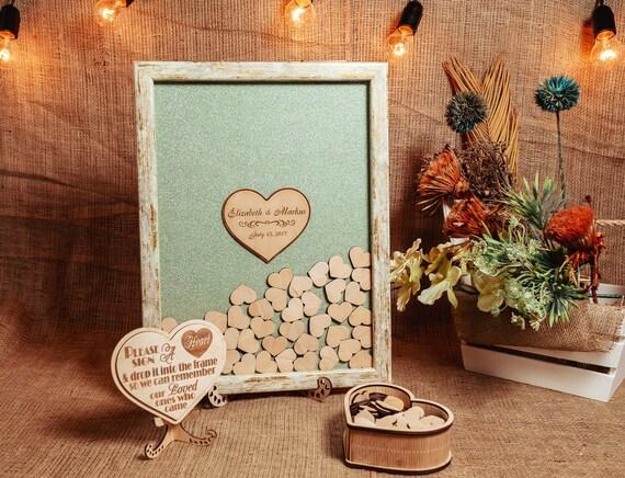 Wedding Guest Book Alternative Guest Book Wedding Drop Box