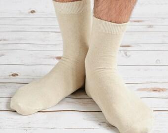 Natural Men Hemp Socks
